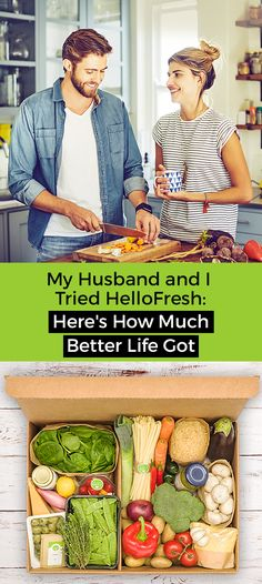 Lately, Ive been spending more time with my city friends, and everyones been talking about HelloFresh, the meal delivery service that sends you simple preplanned dinners in a box. Here's what happened when my husband and I gave it a try. Get Healthy, Healthy Snacks, Healthy Recipes, Gourmet Recipes, Whole Food Recipes, Ras El Hanout, Meal Delivery Service, Healthy Food Delivery, World Recipes