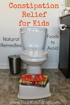 Learn natural remedies for constipation in children that work, without the help of over the counter drugs that can create years of dependence. Perfect for kids and toddlers with chronic constipation. Kids Constipation, Constipation Problem, Constipation Smoothie, Health Remedies, Home Remedies, Natural Remedies, Natural Treatments, Bed Wetting, Kitchens