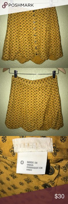 Urban Outfitters: High-Waisted Mini Skirt Size 0- 60s/70s Urban Outfitters mini skirt: high-waisted Urban Outfitters Skirts Mini