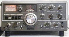 Kenwood TS-520S CW/SSB Amateur Radio HF Transceiver. I'm still running a TS-520, great rig. -- WA5EQQ