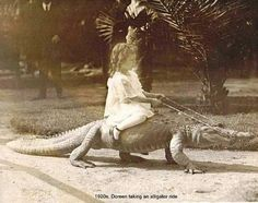 ummm back in the day looks like people weren't as protective with their children as they are now