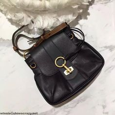 Chloe Lexa Small Double Strap Cross-Body Bag