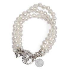 Pari 3 tier pearl bracelet