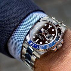 Très belle photo d'une Rolex Oyster Perpetual GMT-Master
