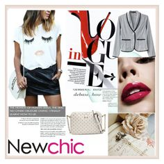 """""""NEWCHIC.COM 7"""" by djulovic-mirela ❤ liked on Polyvore featuring Cannella"""