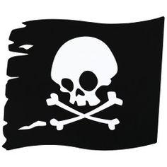 Fun pirate flag