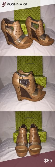 Gianni Bini Wedges Wedges are NIB never been worn. Due to foot surgery with great regret cleaning out the closet my lost may be your treasure. Gianni Bini Shoes Wedges