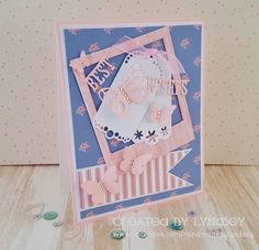 Butterfly Best Wishes - Simply Creative Shabby Chic by design team member Lyndsey