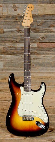 Fender Stratocaster Sunburst 1960 (s591) | Chicago Music Exchange