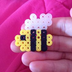 Bee perler beads by misty7972