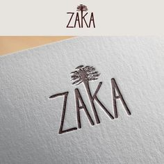 Zaka - A minimalist and classy logo which reminds Africa We will sell some furniture designed in Africa and made with raw wood and recovered material (iron, steel). Logo Branding, Branding Design, Design Logos, Custom Logo Design, Custom Logos, Logo Mexicano, African Logo, Classy Logos, Logo Minimalista