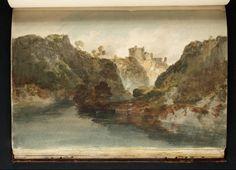 Joseph Mallord William Turner, 'Cilgerran Castle: Looking Downstream' 1798