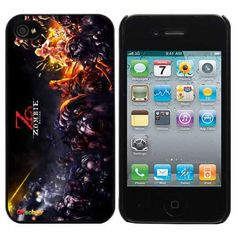 Zombie Online Fashion Design Hard Case Cover Skin Protector for Iphone 4 4s Iphone4 At