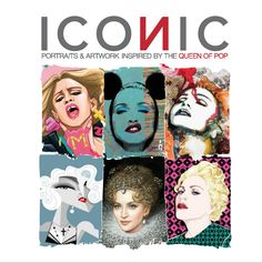 http://www.iconic-italy.com/#!/home  ICONIC OFFICIAL LIMITED EDITION CATALOGUE PRE-ORDER NOW! ICONIC - Portraits & Artwork inspired by The Queen of Pop