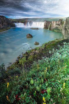 Godafoss, Iceland  (by Helga Kvam )