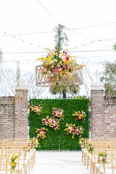 Colorful Charleston Garden Wedding Gadsden House 0080 by Charleston wedding photographer Dana Cubbage