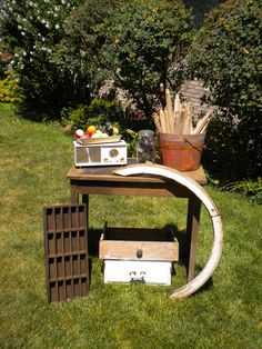 Vintage garden table and moore!