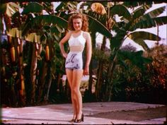 1945 Norma Jeane for Blue Book Modeling
