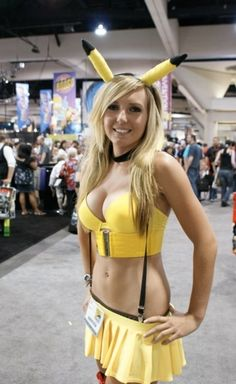 Jessica Nigri makes me like Pikachu more. Yeah, she's THAT HOT!!! lol \µ/—>X)
