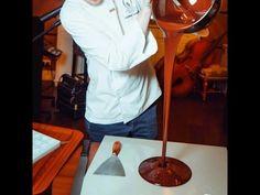 Как делать шоколадную Корону. - YouTube