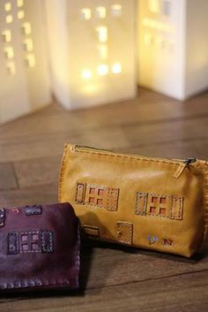 20131206 | HENRY CUIR [Henri Quill] Leather Pouch, Leather Purses, Simple Shoes, Laptop Case, Leather Working, Birkin, Leather Craft, Everyday Fashion, Zip Around Wallet