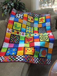 Wyatt's first birthday quilt