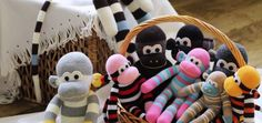 DIY CUTE SOCK MONKEY | Whimseybox