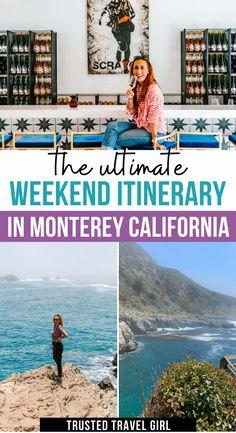 Usa Travel Guide, Travel Advice, Travel Usa, Travel Guides, Travel Tips, Travel Destinations, Monterey California, Visit California, California Travel