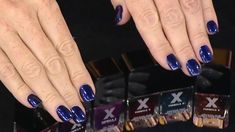 TODAY style editor Bobbie Thomas shows off three of the most popular nail colors for the fall: navy shimmers, red hot reds and toasty nudes. Bobbie nails it!