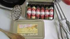Travel Kit Spices of the World Travel to SOUTH by InNonnasKitchen