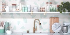 69 Stunning Kitchen Backsplashes You'll Want to Pin For Later