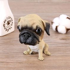 If you love Pugs this Pug car bobble head is for you! Made of resin, standing almost 5 inches tall and a little over 3 inches wide, place it anywhere from your car to office desk. Cute Beagles, Cute Pugs, Love Car, Pug Love, Dog Lover Gifts, Dog Lovers, Mini Schnauzer, West Highland Terrier, Irish Setter