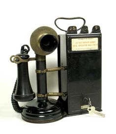 Telephones are one of the most important and useful modern inventions. Learn about telephone operation, creating a telephone network and tones and . Telephone Vintage, Telephone Booth, Vintage Phones, Whatsapp Play Store, Antique Phone, Retro Phone, Smartphone, Record Players, Old Phone