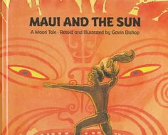Maui and the sun - A Maori Tale Maori Legends, Maori Designs, Maori Art, Reading Resources, Retelling, Artwork Design, Paperback Books, New Books, Literature