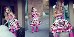 graffiti style kids clothe by Lil Blue Boo --- love this style!