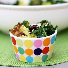 Kale, broccoli, feta saute
