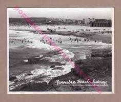Postcard of Maroubra beach.