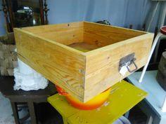 Puinen vetolaatikko