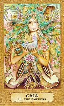 August 4 Tarot Card: The Empress (Chrysalis deck) This is a beautiful time of peace, contentment, and abundance. Open yourself to all that surrounds you now