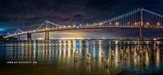 Oakland Bay Bridge Monuments, Bridge, Landscape, Travel, Scenery, Viajes, Bridges, Destinations, Bro