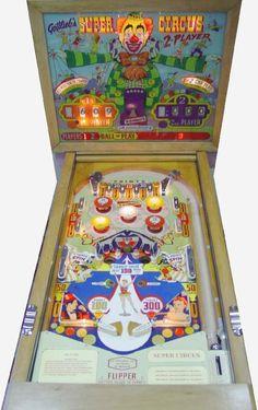 Gottlieb 1957 super circus pinball machine - Google Search