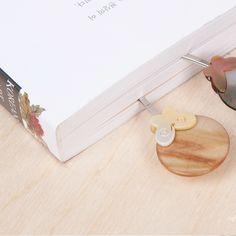 자개 책갈피 - 달나비mother-of-pearl bookmark