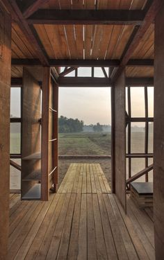 Modern barn by Rintala Eggertsson Architects