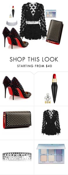 """""""Untitled #85"""" by cas199 ❤ liked on Polyvore featuring Christian Louboutin, Alice McCall, Oscar de la Renta and Anastasia Beverly Hills"""