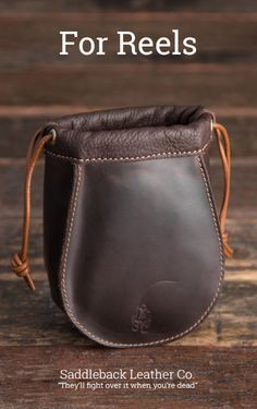 The NEW Small Reel Bag | Full Grain Leather and Sheepskin Wool | 100 Year Warranty | $74.00