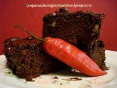 Resultado de imagem para bolo de chocolate com pimenta da novela
