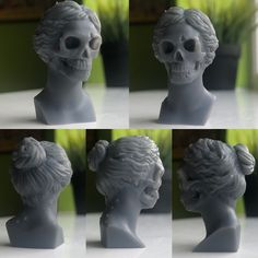 Norman bates mummy, )Psycho film from Alfred Hitchcock printed on in resin Norma Bates, Roman Gods, 3d Character, New Things To Learn, Zbrush, Traditional Art, How To Look Pretty, Something To Do, Sculpting