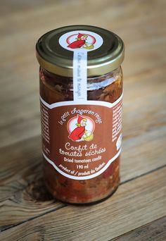 Confit de tomates séchées le Petit chaperon rouge