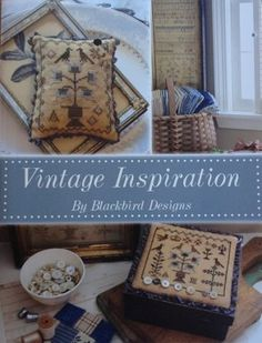 New Blackbird Designs - Vintage Inspiration Stitches 'N Things