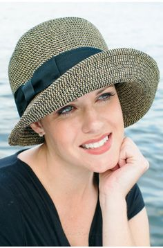 London Hat - Sun Hat for Women, Stylish Cloche Hat for Summer